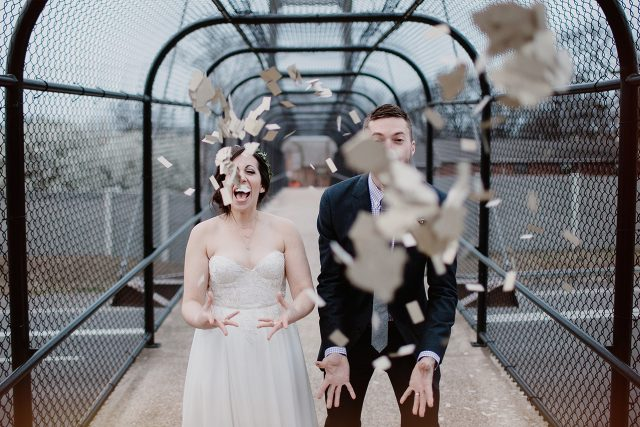 To be fully alive and awake on your wedding day?